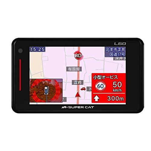 Yupiteru SUPER CAT GPS&レーダー探知機 L60