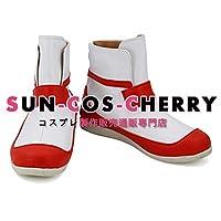 【サイズ選択可】コスプレ靴 ブーツ K-2647 カードキャプターさくら 木之本桜 きのもと さくら 女性23CM