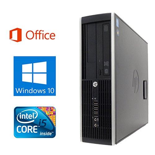 【Microsoft Office 2016搭載】【Win 10搭載】HP 8100/Core i5 3.2GHz/超大容量メモリ8GB/HDD 1TB/DVDドライブ/中古デスクトップパソコン (ハードディスク:1TB)