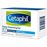 Cetaphil Deep Cleansing Face Body Bar for All Skin Types 127g×6個セット 並行輸入品