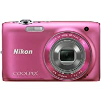 Nikon Coolpix s310014MPデジタルカメラwith 5x NIKKOR広角光学ズームレンズと2.7-inch LCD
