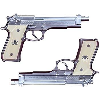Fullcock Realfoam Water Gun ブラックラグーン レヴィの愛銃 SWORD CUTLASS 塗装版 シルバー 2丁セット 全長約257mm ABS製 ウォーターガン