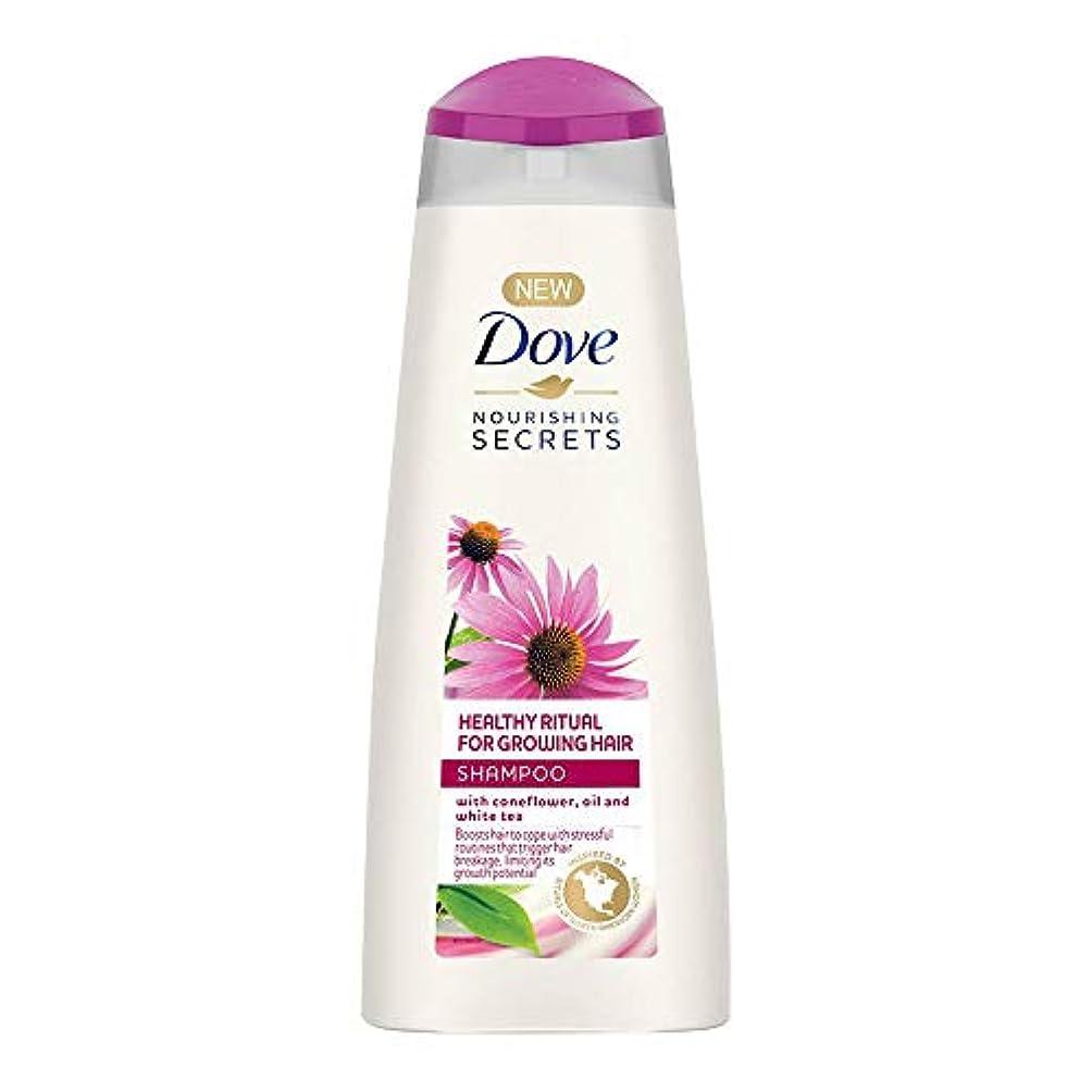 前方へその間満員Dove Healthy Ritual for Growing Hair Shampoo, 340 ml (Coneflower, Oil and White Tea)