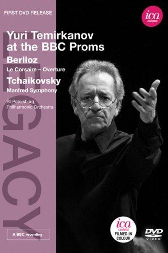 ユーリ・テミルカーノフ指揮 - ベルリオーズ:序曲「海賊」/チャイコフスキー:交響曲「マンフレッド」 [DVD]
