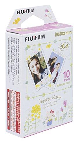 FUJIFILM インスタントカメラ チェキ用フィルム 10枚入 絵柄 (キティ) INSTAX MINI KITTY3 WW 1の詳細を見る