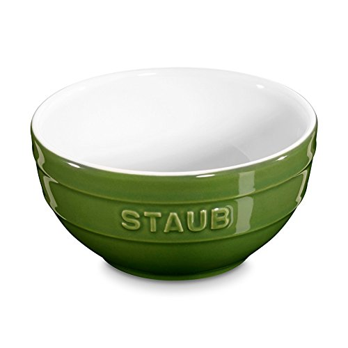Staubセラミック小さなデザートボウル4.75-inchBasil