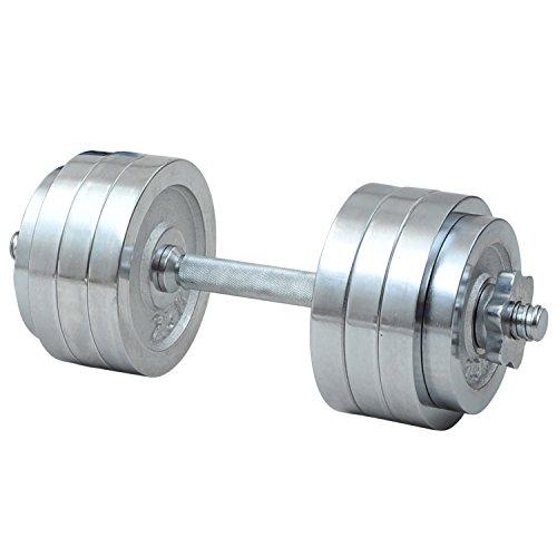 山善(YAMAZEN) Circulate クロムダンベルセット 20kg SD-20