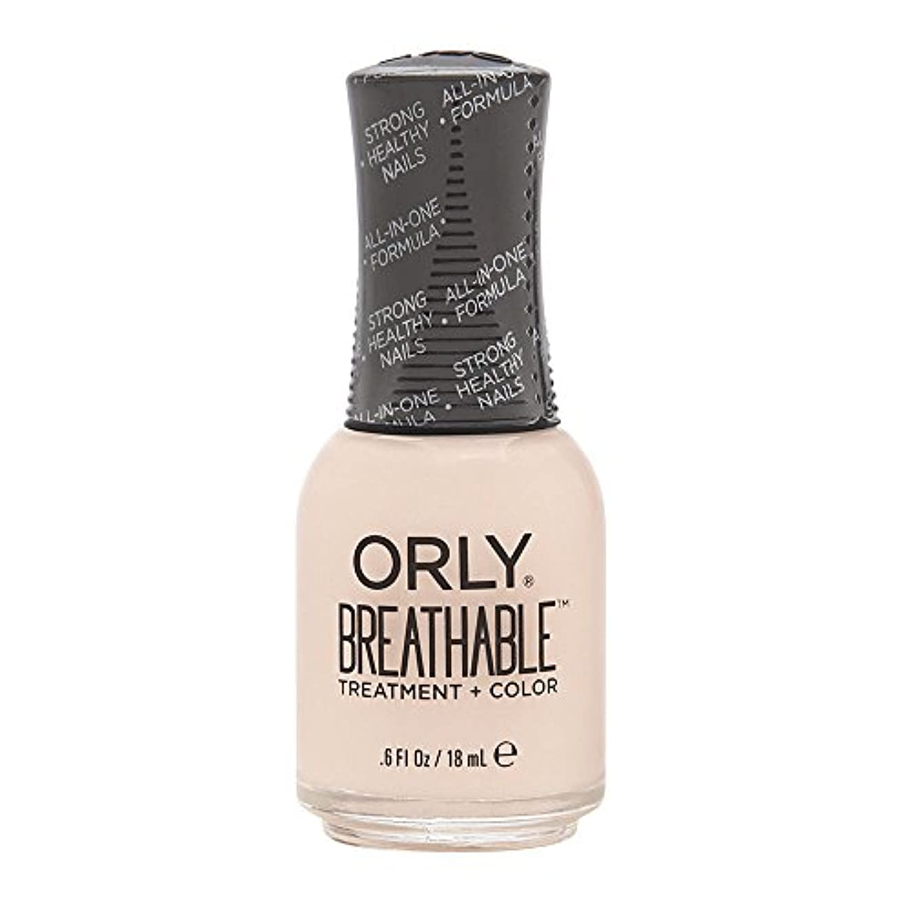 コース調べる独立したOrly Breathable Treatment + Color Nail Lacquer - Rehab - 0.6oz / 18ml