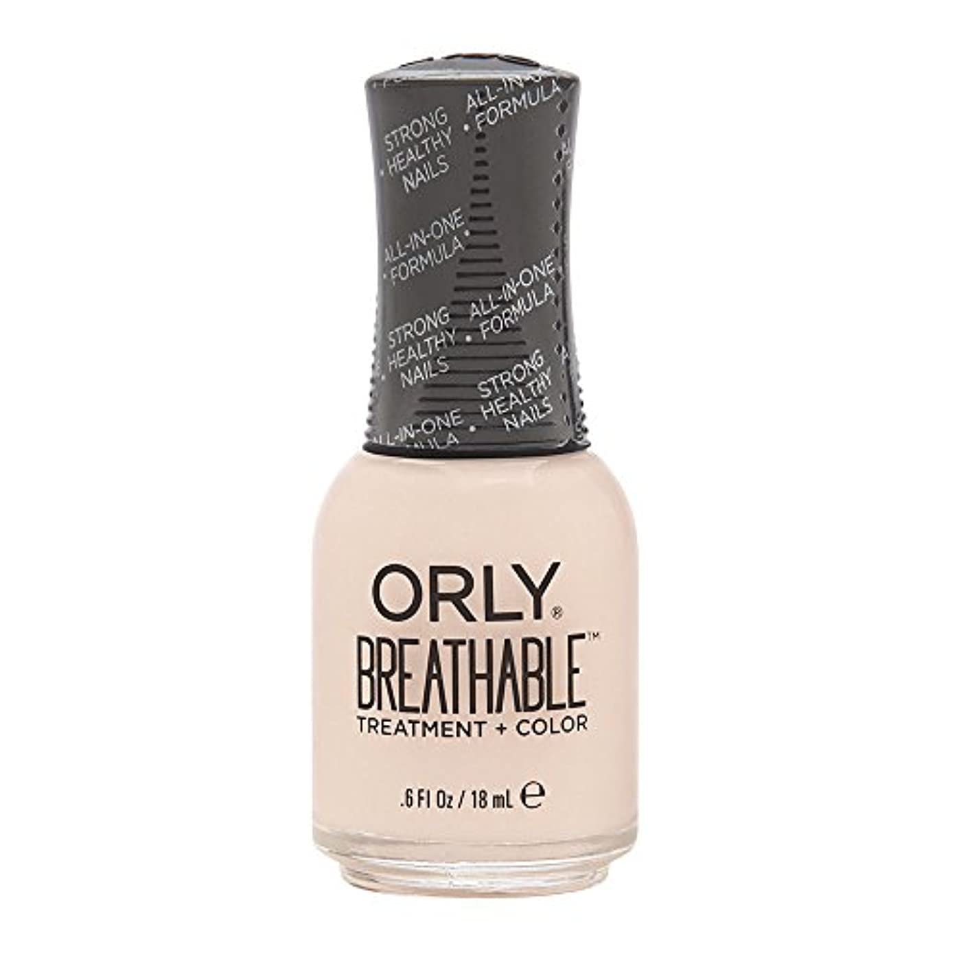 真珠のような俳優胚芽Orly Breathable Treatment + Color Nail Lacquer - Rehab - 0.6oz / 18ml