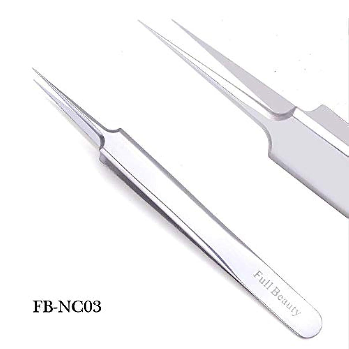 するだろう愛する給料1ピーススライバーミラー眉毛ピンセット湾曲ストレートまつげエクステンションネイルニッパーにきびクリーニング化粧道具マニキュアSAFBNC01-04 FB-NC03