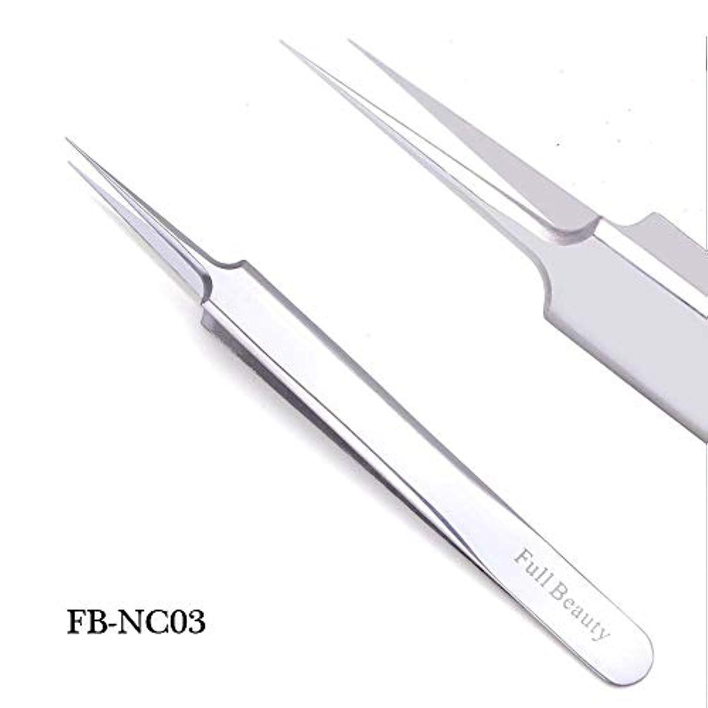 枯渇魔術十分ではない1ピーススライバーミラー眉毛ピンセット湾曲ストレートまつげエクステンションネイルニッパーにきびクリーニング化粧道具マニキュアSAFBNC01-04 FB-NC03