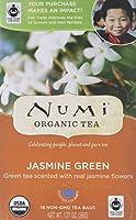 Numi Organic - 緑茶ジャスミン - 1ティーバッグ