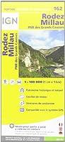 Rodez / Millau 2014 (Ign Map)