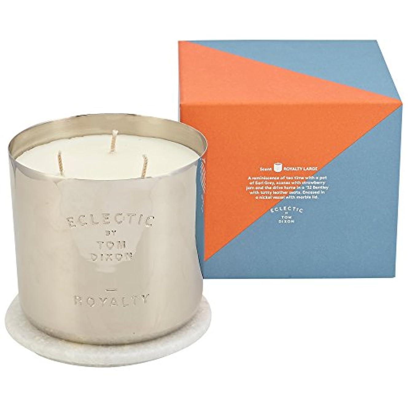 腕恐れる概要トムディクソンロイヤリティ大きな香りのキャンドル x6 - Tom Dixon Royalty Scented Candle Large (Pack of 6) [並行輸入品]
