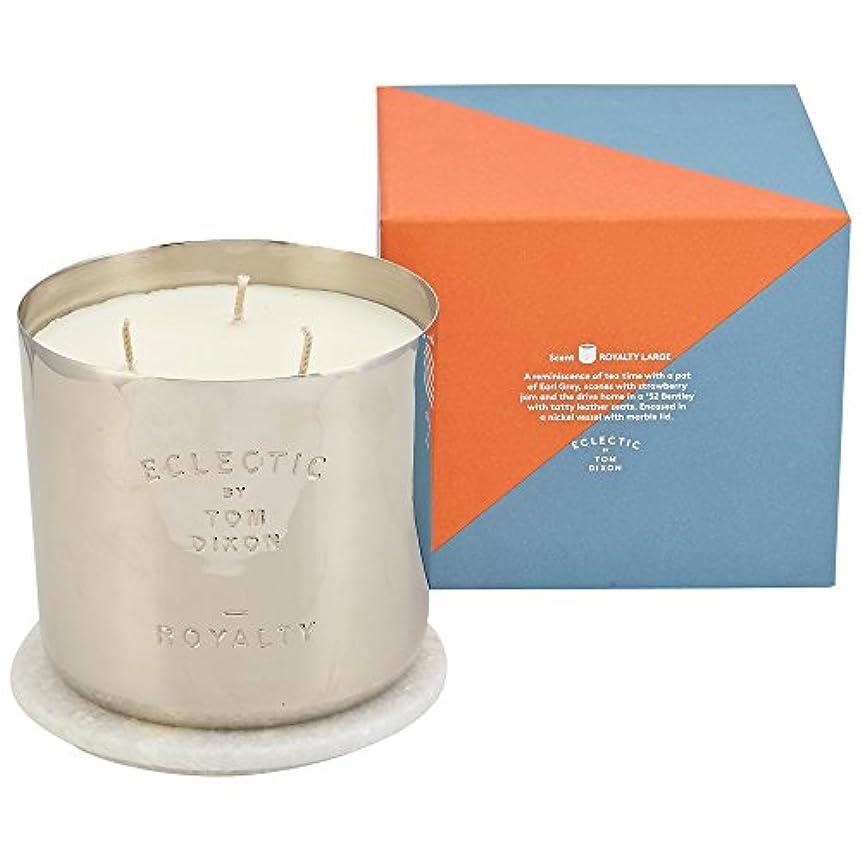 田舎伝統的丁寧トムディクソンロイヤリティ大きな香りのキャンドル x6 - Tom Dixon Royalty Scented Candle Large (Pack of 6) [並行輸入品]