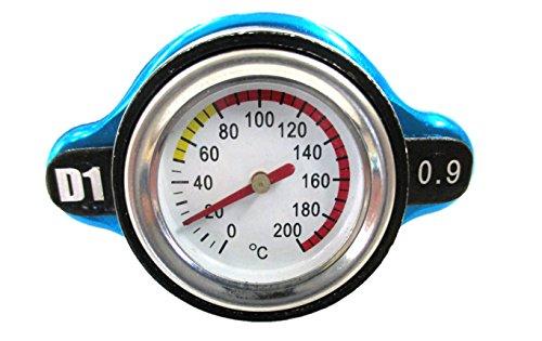 水温計 付き ラジエターキャップ カスタム 0.9k Aタイプ