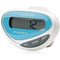 Pingko LCD表示ステップ距離カロリーカウンターウォーキングフィットネスアウトドアMultifuctionalスポーツ歩数計