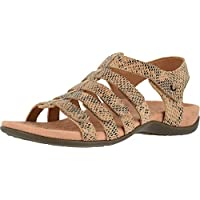 Vionic Women's Rest Harissa Backstrap Fisherman Walking Sandals - Adjustable Gladiator Sandal with Concealed Orthotic Arch Support