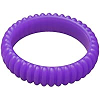 KidKusion Gummi Teething Bracelet Cable, Purple by KidKusion