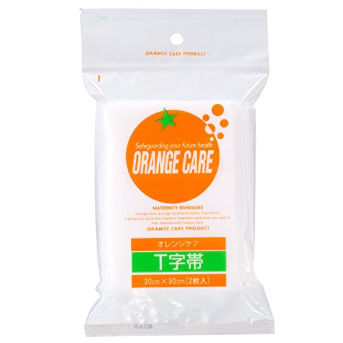 オレンジケア T字帯 30cm*90cm(2枚入)