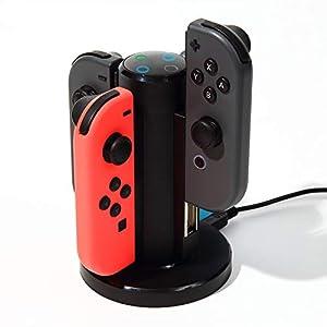 Nintendo Switch Joy-Con ジョイコン 大容量出力 急速充電スタンド コントローラー スイッチ