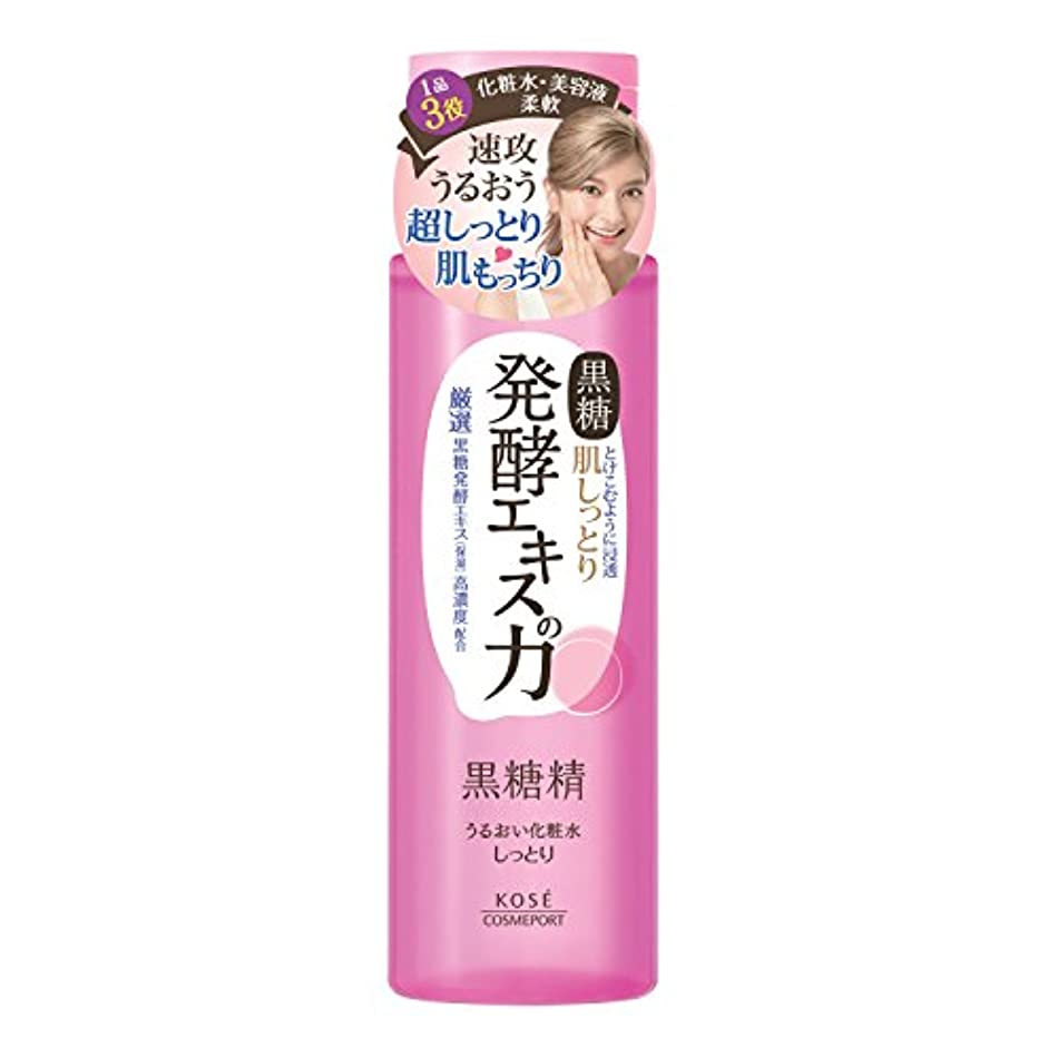 キャラクター母性論争的KOSE 黒糖精 うるおい化粧水 しっとり 180mL