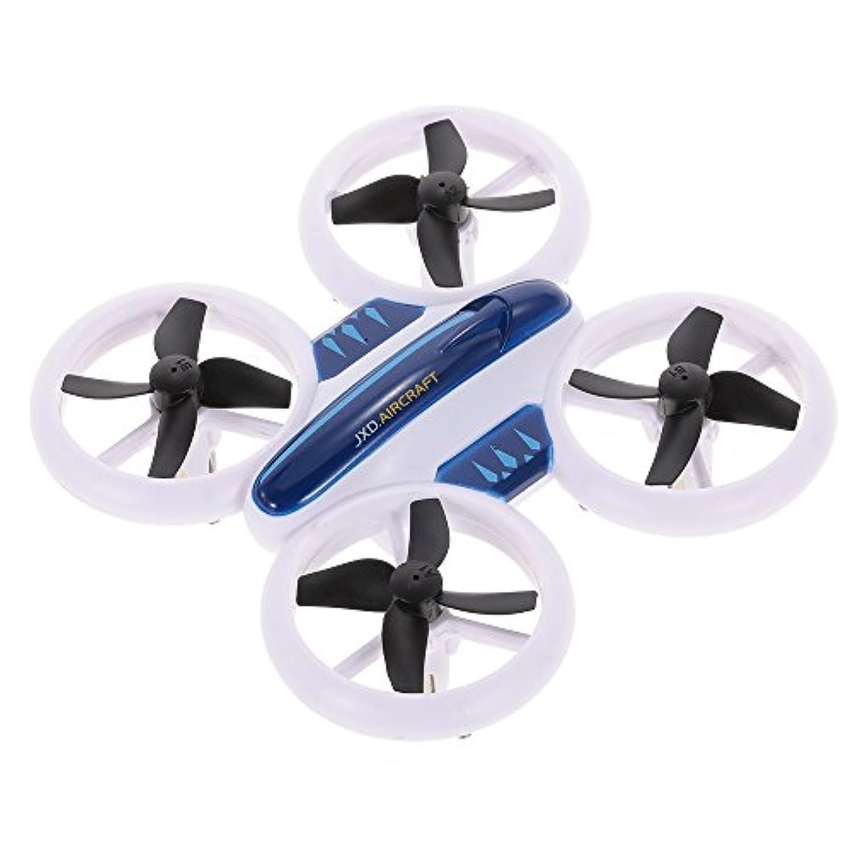 リモートドローン、カメラなしでJxd532航空機クールライティング2.4G 4Ch 6軸クワッドコーンドローンRc玩具