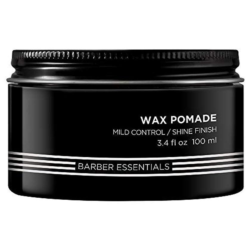悪党ミシンハリケーンレッドケン Brews Wax Pomade (Mild Control/Shine Finish) 100ml/3.4oz並行輸入品