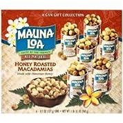 MAUNALOA(マウナロア) ハニーローストマカダミアナッツ6缶セット (ハワイ お土産)