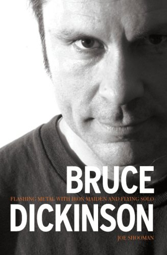 "Bruce Dickinson: Flashing Metal with ""Maiden"" and Flying Solo"