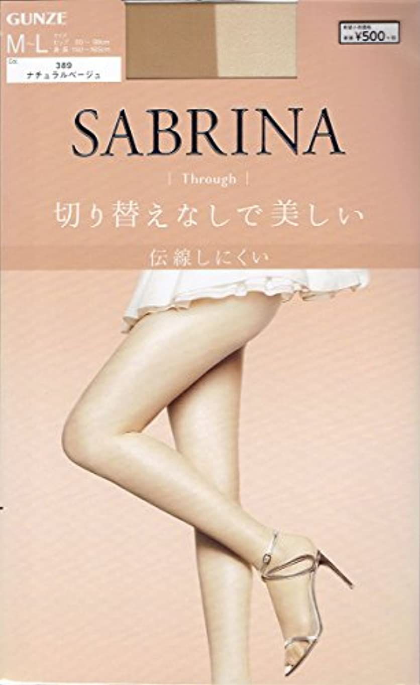 勧める十分ではない具体的にSABRINA(サブリナ) オールスルー ストッキングMLナチュラルBE