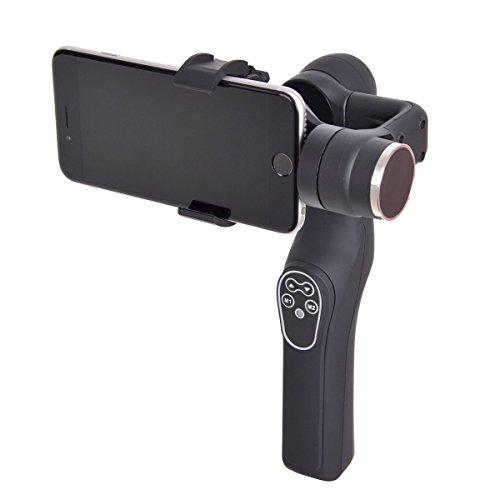 2軸で価格を抑えたiPhoneも使えるスマホ用カメラスタビライザー「2軸電子制御カメラスタビライザー」19,800円