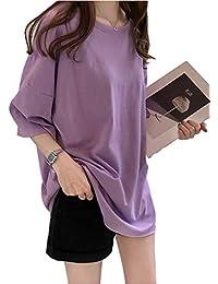[シービリーヴ] ゆったり Tシャツ Uネック 無地 インナー カジュアル シャツ シンプル 良質素材 かわいい 速乾 部屋着