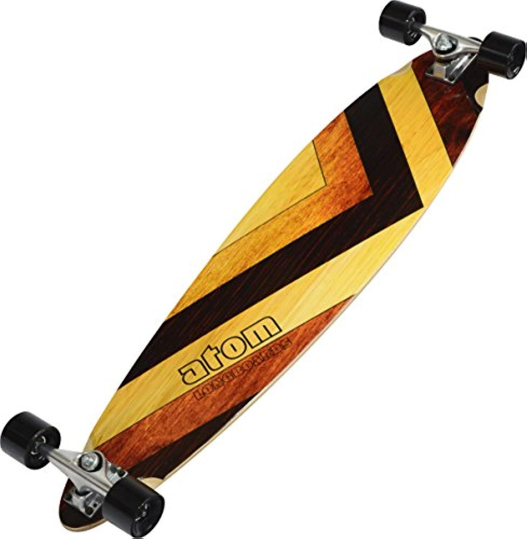 Atom Longboards Atom Pintail Longboard - 39 , Woody by Atom Longboards
