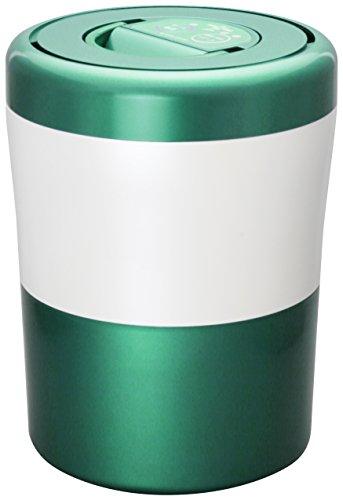 島産業 家庭用生ごみ減量乾燥機 『パリパリキューブ ライト』 グリーンストライプ PCL-31-GWG