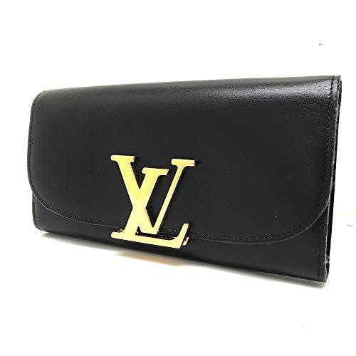 (ルイ・ヴィトン) LOUIS VUITTON M58171 パルナセア ポルトフォイユ・ヴィヴィエンヌ 2つ折り長財布 長財布(小銭入れあり) レザー ユニセックス 中古