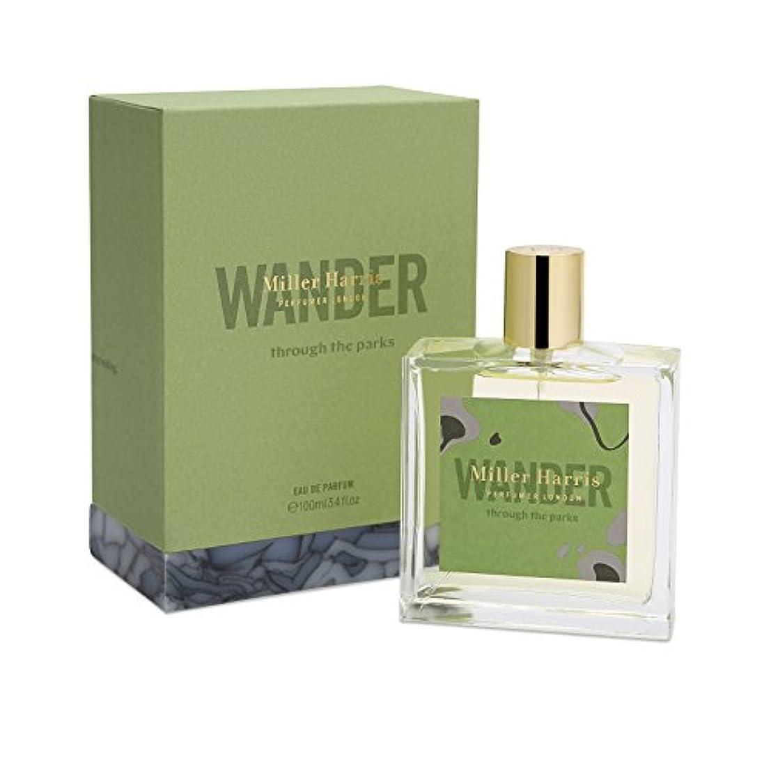 降ろす平手打ち生き残りミラーハリス Wander Through The Parks Eau De Parfum Spray 100ml/3.4oz並行輸入品
