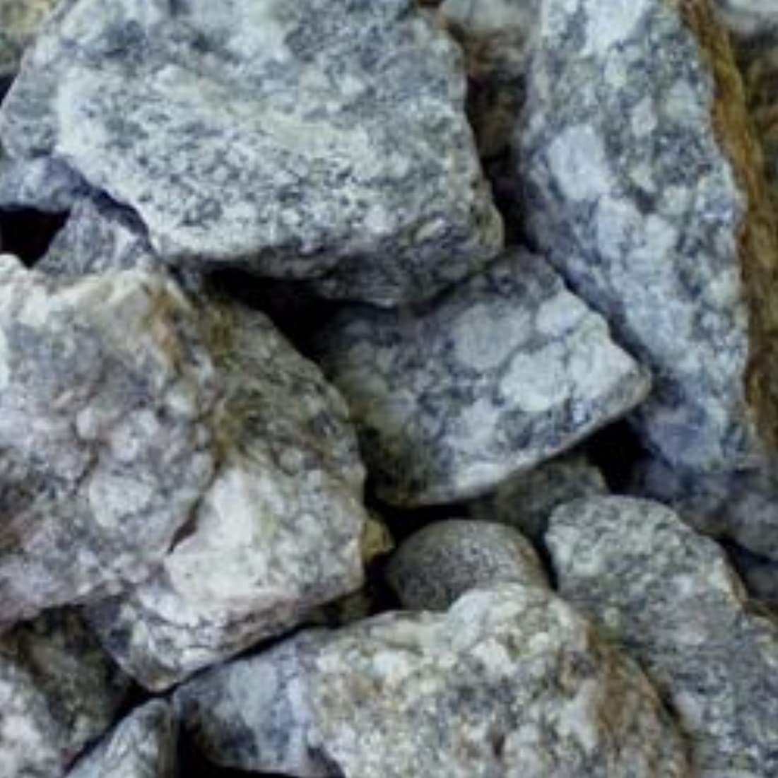 引数通貨二度麦飯石 原石 5000g(サイズ10-30mm) (5袋セット) (5袋)