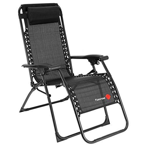 FLAMROSE 【無重力チェア】 リビングルーム家具 キャンプ椅子 - 折...