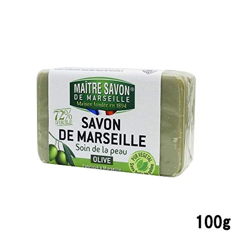 前提条件荒野安価なサボンドマルセイユ オリーブ 100g [並行輸入品]