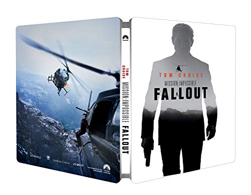 ミッション:インポッシブル/フォールアウト スチールブック仕様 [Blu-ray リージョンフリー ※日本語無し](輸入版)