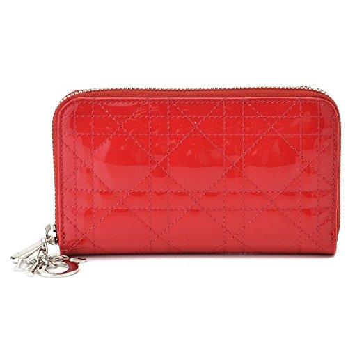 クリスチャンディオール(C.Dior) LADY DIOR ラウンドファスナー財布 S0043PVRB 0004 M11F [並行輸入品]