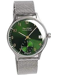 [ザ・スタック] The STAC 日本製 国産 腕時計 ウォッチ 36mm クラシックグリーン メッシュベルト メンズ レディース ユニセックス