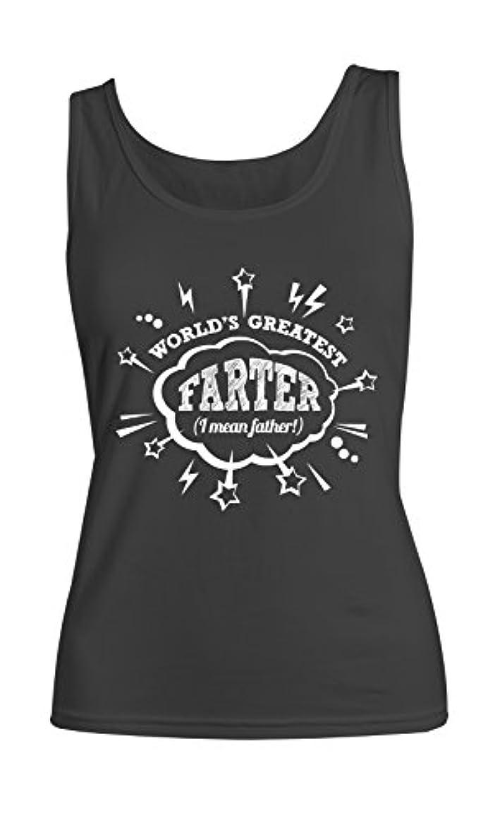 ゲームスティックランプWorld's Greatest Farter (I Mean Father) おかしいです レディース Tank Top Sleeveless Shirt