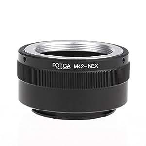 Fotga M42アダプターリング    ソニーNEX EマウントNEX NEX3 NEX5n NEX5t A7 A6000用