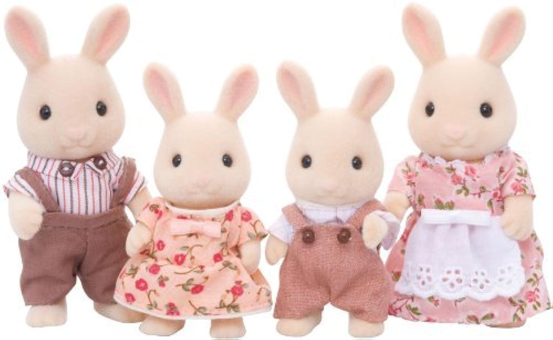 Sylvanian Families Milk Rabbit Family by Toyland [並行輸入品]