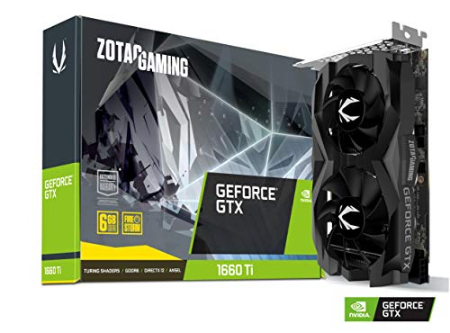 ZOTAC GAMING GeForce GTX 1660 Ti 6GB GDDR6 グラフィックスボード VD6900 ZTGTX1660TI-6GB