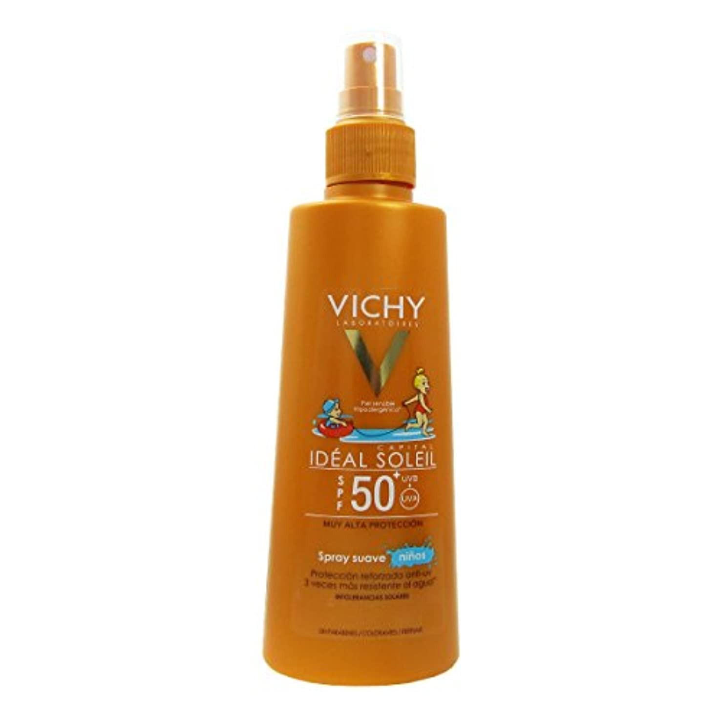 Vichy Id饌l Soleil Children Spf 50 Spray 200ml [並行輸入品]
