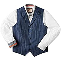 Joe Browns Mens Superb Stripe Waistcoat