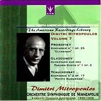 Prokofiev;Sym.1/Glazunov